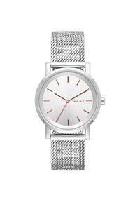 Srebrny zegarek DKNY elegancki
