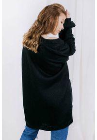 Czarny sweter Lemoniade wizytowy, ze splotem