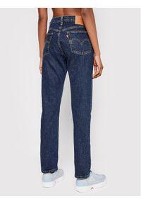 Levi's® Jeansy 501™ 36200-0179 Granatowy Cropped Fit. Kolor: niebieski