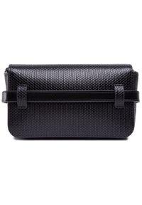 Lacoste - Saszetka nerka LACOSTE - Belt Bag NF3390KL Noir 000. Kolor: czarny. Materiał: skórzane. Styl: casual, elegancki
