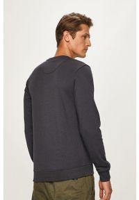 Niebieska bluza nierozpinana Blend bez kaptura, z nadrukiem