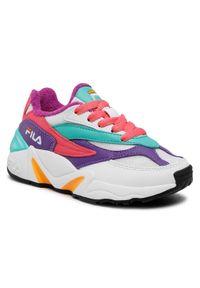 Fila Sneakersy V94M F Jr 1011085.74B Biały. Kolor: biały