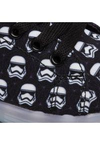 Czarne półbuty Star Wars z cholewką, z motywem z bajki