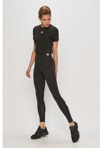 Czarna bluzka adidas Originals casualowa, na co dzień