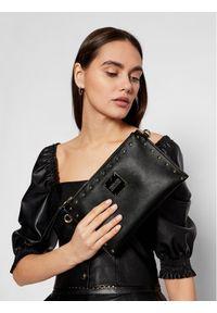 Versace Jeans Couture Torebka E1VWABEX Czarny. Kolor: czarny