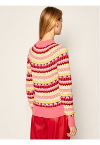 Sweter klasyczny Tommy Jeans w kolorowe wzory