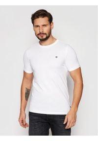 Jack&Jones PREMIUM T-Shirt Blahardy 12166527 Biały Slim Fit. Kolor: biały