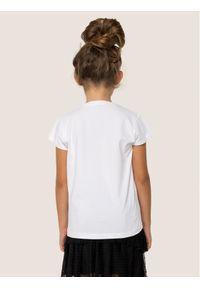 Biały t-shirt Liu Jo Kids