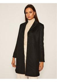 Czarny płaszcz przejściowy Pennyblack