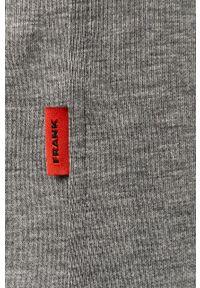 Szare spodnie dresowe John Frank melanż #3