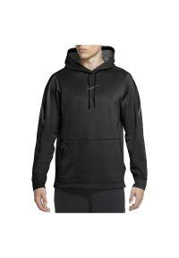 Bluza męska Nike Pro CV8105. Typ kołnierza: kaptur. Materiał: tkanina, materiał, poliester. Technologia: Dri-Fit (Nike). Sport: fitness