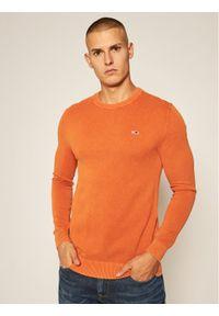 Pomarańczowy sweter Tommy Jeans