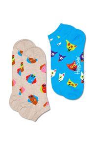 Wielokolorowe skarpetki Happy-Socks #1