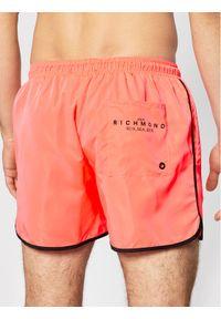 John Richmond Szorty kąpielowe Madley UMP21128CO Różowy Regular Fit. Kolor: różowy