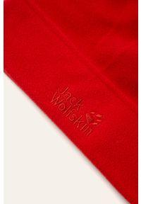 Czerwona czapka Jack Wolfskin