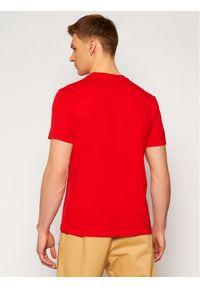 Champion T-Shirt Logo 214194 Czerwony Comfort Fit. Kolor: czerwony