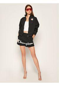 Czarna kurtka przejściowa Champion