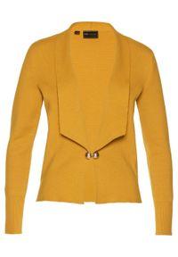 Złoty sweter bonprix