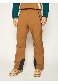 Brązowe spodnie sportowe Billabong snowboardowe