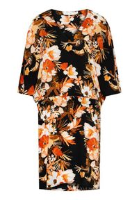 Seafolly Sukienka letnia Bora Bora Flora 54227-KA Kolorowy Regular Fit. Wzór: kolorowy. Sezon: lato