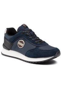 Colmar - Sneakersy COLMAR - Travis Drill 013 Navy. Kolor: niebieski. Materiał: nubuk, zamsz, skóra. Szerokość cholewki: normalna