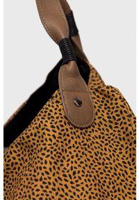 Protest - Torebka. Kolor: brązowy. Rodzaj torebki: na ramię #5