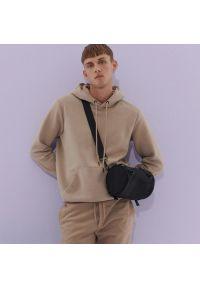 Reserved - Bluza z kapturem - Beżowy. Typ kołnierza: kaptur. Kolor: beżowy