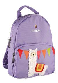 LittleLife plecak Friendly Faces Toddler Backpack 2l, lama. Kolor: fioletowy