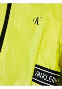 Żółta kurtka przejściowa Calvin Klein Jeans