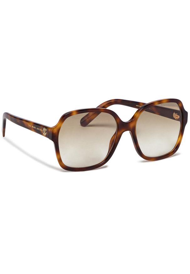 Okulary przeciwsłoneczne MARC JACOBS - 526/S Havana 086. Kolor: brązowy