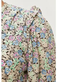 Wielokolorowa sukienka Answear Lab wakacyjna, maxi