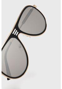Czarne okulary przeciwsłoneczne Aldo