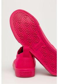 Big-Star - Big Star - Tenisówki. Nosek buta: okrągły. Zapięcie: sznurówki. Kolor: różowy. Materiał: guma