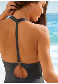 Szary strój kąpielowy bonprix dla wysokich