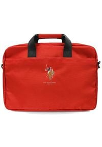 U.S. Polo - Torba na laptopa US POLO 15 cali Czerwony. Kolor: czerwony