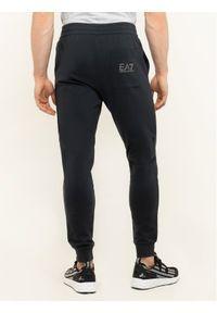 Niebieskie spodnie dresowe EA7 Emporio Armani #6