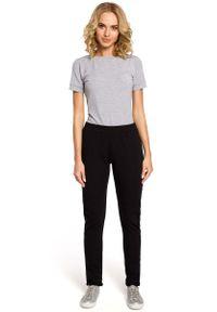 Czarne spodnie dresowe MOE