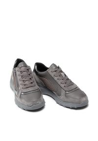 Geox Sneakersy D Alleniee B D16LPB 0EW22 C9002 Szary. Kolor: szary