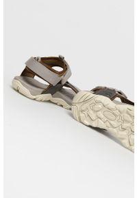 Szare sandały Camel Active na rzepy
