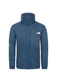 Niebieska kurtka turystyczna The North Face
