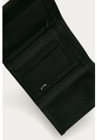 Czarny portfel Billabong gładki