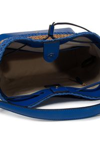 Niebieska torebka worek Lauren Ralph Lauren