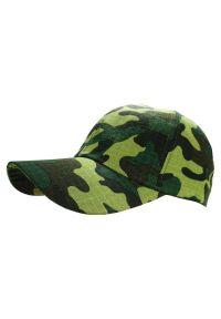 Zielona czapka Pako Jeans moro, militarna