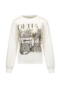 Deha - Bluza DEHA HYPE. Materiał: włókno, tkanina, bawełna. Wzór: motyw zwierzęcy, aplikacja, nadruk