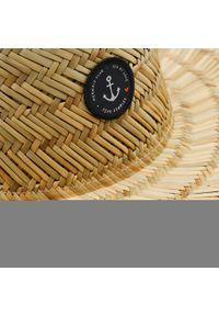 Beżowy kapelusz Femi Stories