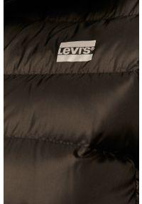 Czarna kurtka Levi's® biznesowa, z kapturem, na spotkanie biznesowe