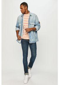 Niebieskie jeansy Tom Tailor gładkie