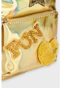 Złoty plecak Mayoral z aplikacjami