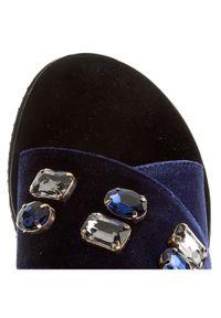 Niebieskie klapki Gino Rossi