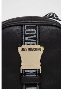 Love Moschino - Saszetka. Kolor: czarny